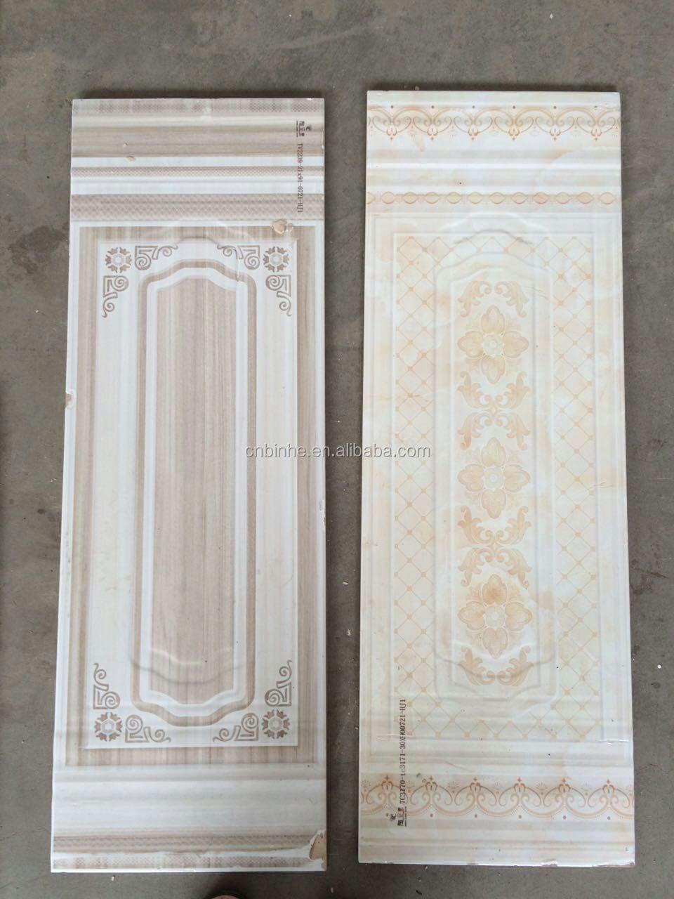 30x90 Geglazuurd gepolijst keramische tegels inkjet badkamer ...