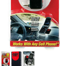 Mobile audio converter /Jupiter Jack cell phone to car radio adapter-with 6 adapters