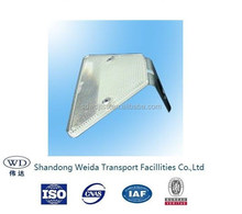 Highway crash barrier accessory/ reflector