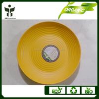 elegant fruit plates natural food tray in bamboo fiber