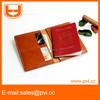 custom leather or pu RFID blocking passport holder wallet