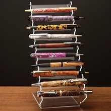 Wholesale New Products Counter Top Clear acrylic pen holder