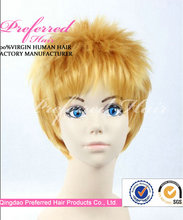 2014 New Products man Fashion Synthetic Wigs made in china