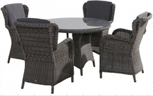 PE rattan dinning garden set/dinning garden furniture/plastic rattan furniture/