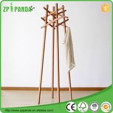 2015 Newest designed free standing Wooden coat rack Hat Umbrella Stand nitori hat rack stand