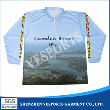 Sublimated Fishing Sportswear Fishing Outdoor Clothing