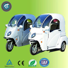 New model 3 wheel electric trike for adults / cargo and passenger use rickshaw