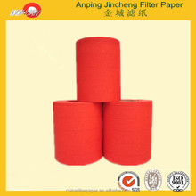 Grade A Red Color Air Filter paper and Filter Material