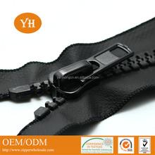 new arrival open end plastic waterproof zipper for Jackets