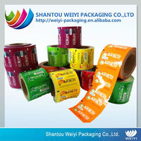 FDA flexible food packaging film on roll with customized dimension
