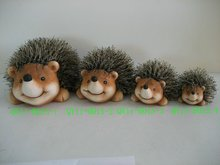 Hedgehog decoration for 2012 QY11-B015-1-2-3-4