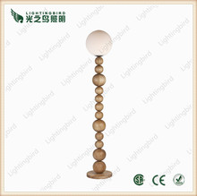 light colored solid wood furniture & wooden standing floor light sale in china zhongshan