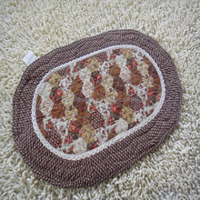 Branded export durable Double strip cotton floor mat