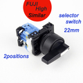 rotary 2 interruptor selector de posición del interruptor de encendido y apagado de enganche 1no 10a 600v