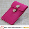 2015 new arriavl felt case for card and phone with different color