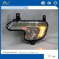 12V Automotive Lamp LED DRL for Peugeot 508 (11-14) 2014 China factory high quality LED DRL turn signal light