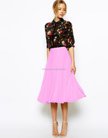 2014 Pleated Midi Skirt for Women LC244
