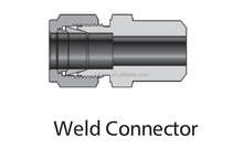 "stainless steel weld connector high pressure weld connector 1/4""weld connector"