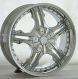 20/22inch chrome face alloy aluminum wheel fit all car with nail