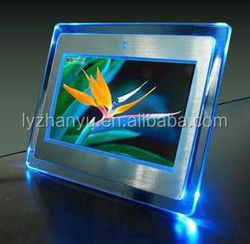 2015 Fashion Light Beautiful acrylic led photo frame With Competitive Price