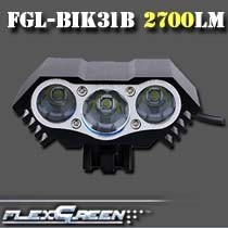 rechargeable 8000mah xml 27w led 3 T6 bicycle light