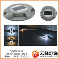patent design 4 LED solar path marker lightsolar road marker light stud decking solar light pavement marker led road solar light