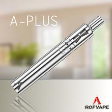 Rofvape latest products A Plus 3000mah vapor cigarette mods kit exceed 2000mah ego battery