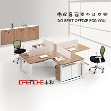 Hot sale office furniture new product 4 people open office workstation