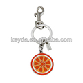 Laranja chaveiro/fruto da corrente chave chave anel máquina de anel de chave maker