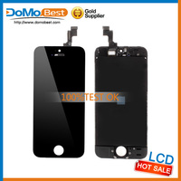 """best quality 4"""" lcd digitizer for iphone 5s, lcd+digitizer glass+frame+flex all original."""