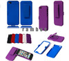 New Product Colorful Belt Clip Stand Holder Holster Hard Cover Case for iPod Touch 5