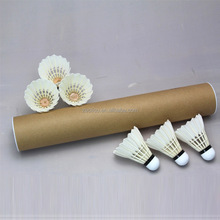 Super high quality Class A goose feather shuttlecock badminton for tournament