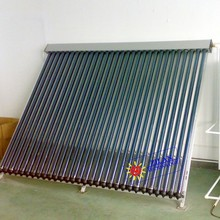 Heat pipe parabolic solar collector