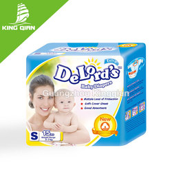 Disposable top seller sleepy baby diaper made in china