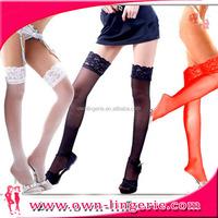 Super sexy fancy black silk temptation stockings for fashion ladies