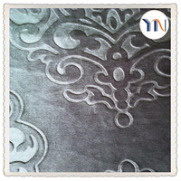 3d embossed blackout Italy curtain velvet fabric