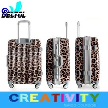 factory price with high quality tool case /travel case aluminum sash abs+pc material trolley luggage suitcase/luggage cabin