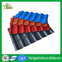 2.5mm thickness plastic roofing materials synthetic tile roof tile