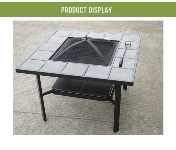 Table basse avec foyer for Foyer exterieur costco