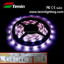 SMD5050 led flexible strip light 60 led/m DC12V, 5 meter rgb led strip,long life time led strip