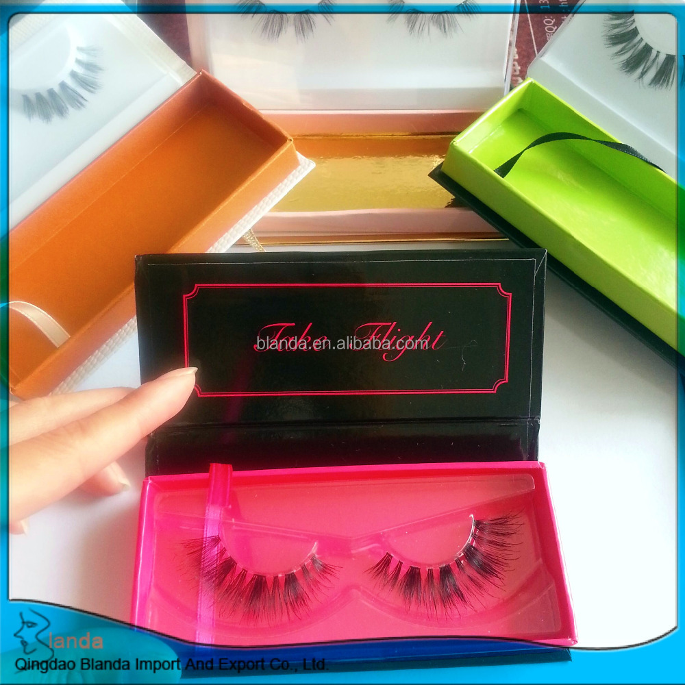 private label packing mink lashes box ;3d mink eyelashes package box ...