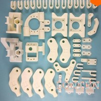 Open RepRap Prusa Mendel DIY 3D Printer ABS Full Print Parts 18 Species / A Total Of 47 PCS - White