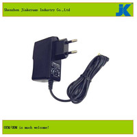 9v 2a network adapter with the function of solar charger with led light and dual usb wall charger