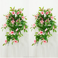 Pink Artficial Azalea Floral Bunsh Wedding Decoration