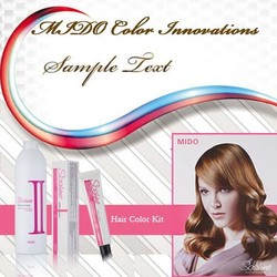 Low ammonia easy use hair color for hairdresser used