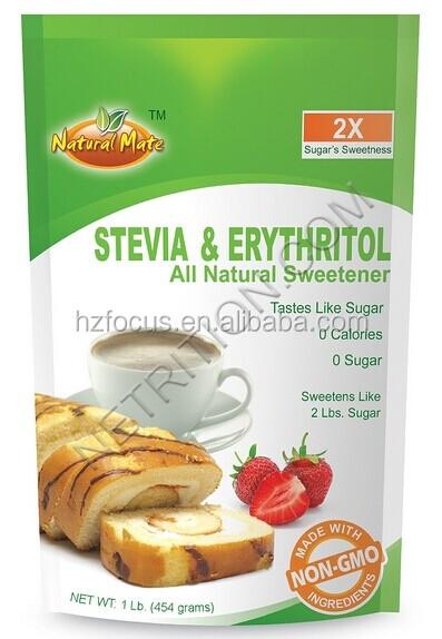 25KG/BAG Erythritol, Erythritol Stevia, Erythritol Sucralose
