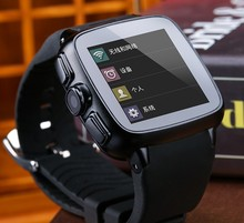 leather watch band 300W camera bluetooth/GPS/WIFI 3G GSM waterproof android TOUCH PANEL smart watch phone