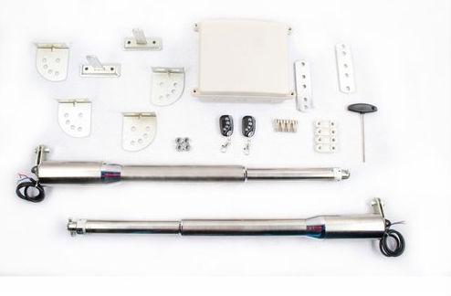 Puertas y portones automaticos control remoto y piston - Motores electricos para puertas ...