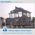 Leve dois- andares casa estrutura de aço para a venda