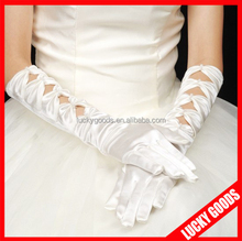 wedding fashion bridal ivory wedding gloves for sale
